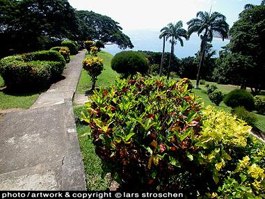 Propeller Island Galerie Travel Country Tobago scarborough view
